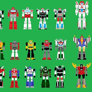 autobots 8 bit by CraigMatthews
