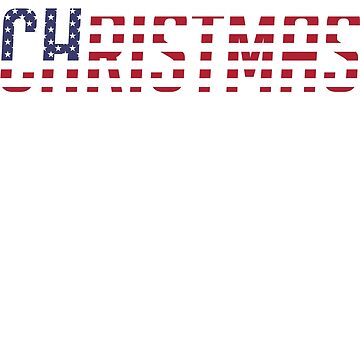 USA Flag Christmas Gift for all Patriots by SONICYI