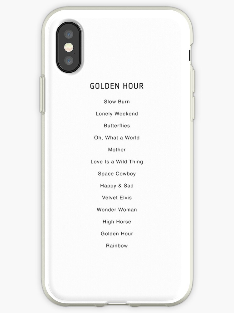 'Golden Hour Album' iPhone Case by SunnyLemonader
