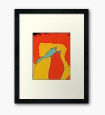 Birdies q11b22 Framed Print