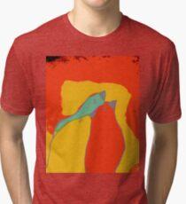 Birdies q11b22 Tri-blend T-Shirt