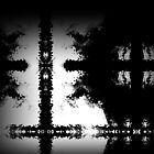 Black And White Cross Composition by SpieklyArt