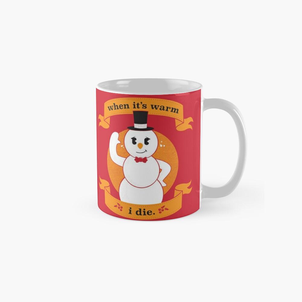 A Frosty Seasons Greeting Mug