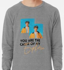 Jungkook Euphoria  Lightweight Sweatshirt