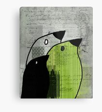 Birdies - j693b4 Metal Print