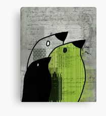 Birdies - j693b4 Canvas Print