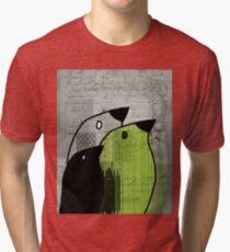 Birdies - j693b4 Tri-blend T-Shirt