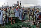 Kaiser Wilhelm II on the Eastern Front, WWI  by edsimoneit