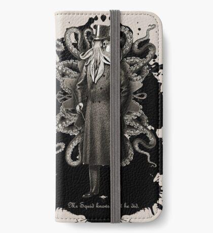 Mr Squid iPhone Wallet