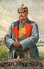 Field Marshall Paul von Hindenburg by edsimoneit