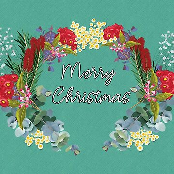 Australian Christmas Wreath by elee