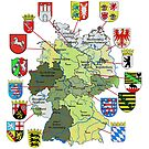 The 16 States of the Federal Republic of Germany by edsimoneit