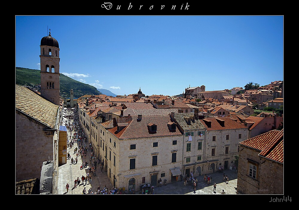 The 'In-skirts' of Dubrovnik by John44