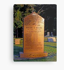 Mother 0f 9 Grandmother -- Momma of 30  Great-Grandmother  of 45 Children  Metal Print