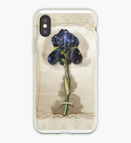 Night Iris iPhone Case