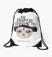 the birthday massacre, looking glass Drawstring Bag