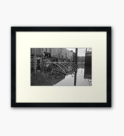 WaterBike Rider Framed Print
