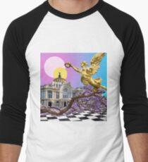 Vaporwave CDMX Men's Baseball ¾ T-Shirt