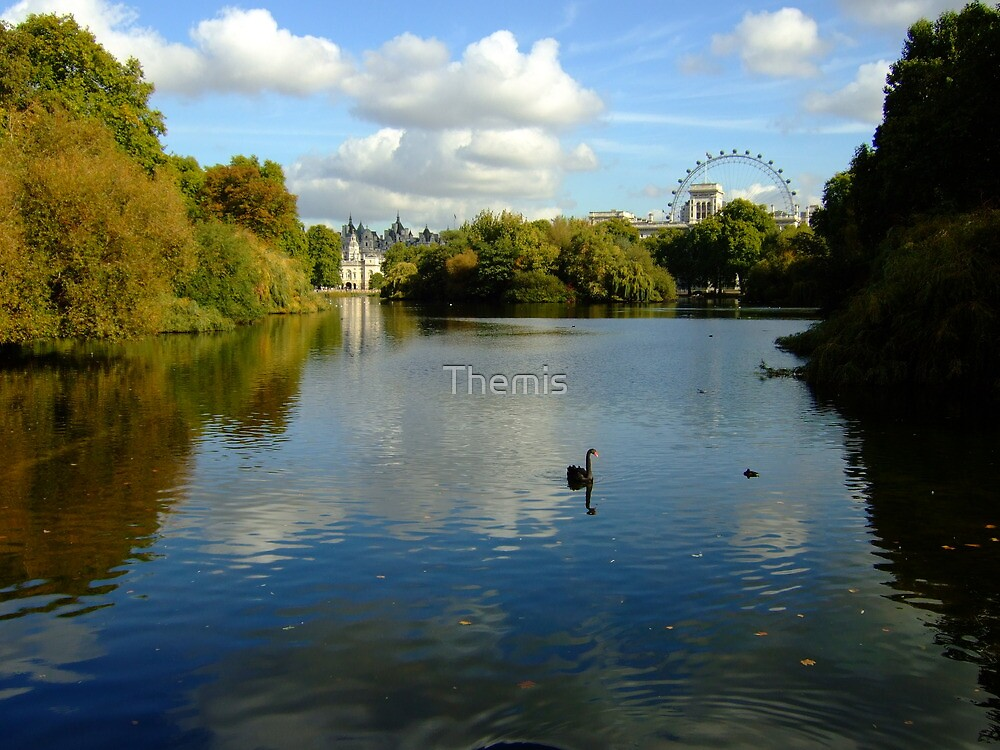 Horse Guards Parade from St James's Park by Themis