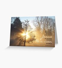 Easter Matthew 28 Greeting Card