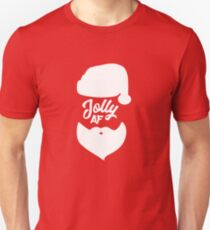 Jolly AF Christmas Gift Funny  Unisex T-Shirt