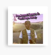 The Sunset Tapes: A Cool Tape Story - Jaden Smith  Canvas Print