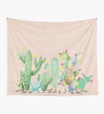Bohemian Glam Kaktus Wandbehang