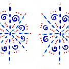 Painted Snowflake Design by KazM