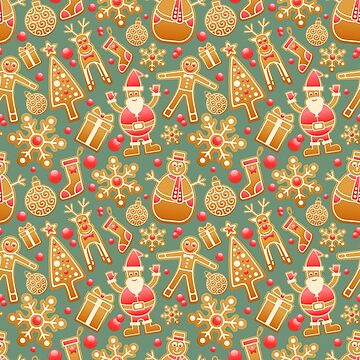Christmas Gingerbread Mix by Gravityx9