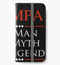 Wompa The Man The Myth The Legend Gift For Grandpa iPhone Wallet/Case/Skin