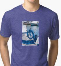 sailor wheel Tri-blend T-Shirt