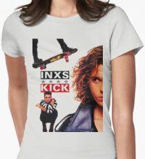 INXS — Kick Women's Fitted T-Shirt
