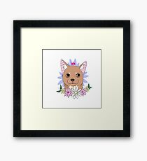 Chihuahua Love Framed Print