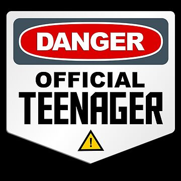 Danger Official Teenager by VomHaus