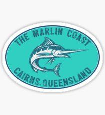 The Marlin Coast Cairns Queensland Australia Great Barrier Reef Coral Sea Sticker