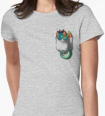 Wings of Fire - Pocket Glory Dragon Women's Fitted T-Shirt