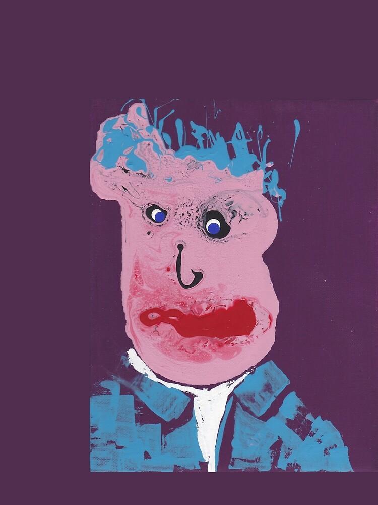 «L'affreux - Martin Boisvert - Face à flaques» par martinb1962