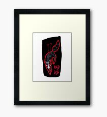 mad dog Framed Print