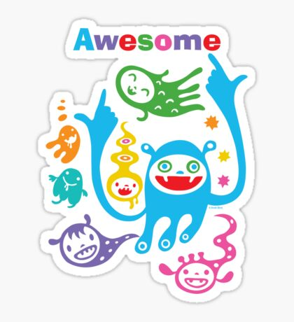 Stay Awesome - light  Sticker