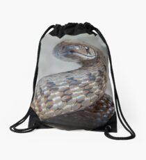 The Smallest of Friends Drawstring Bag