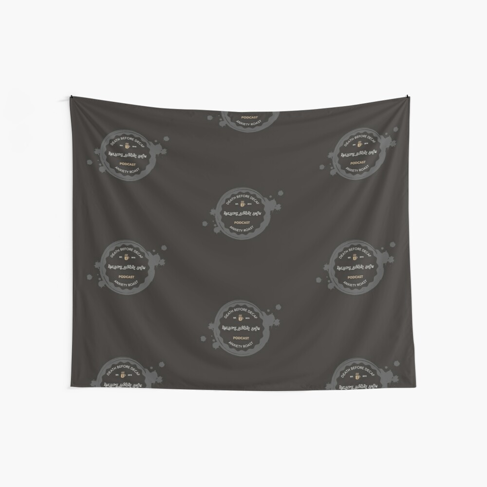 Coffee logo Wall Tapestry