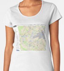 Sector Essonne Nord - RER - Train - Metro - Tram - France Women's Premium T-Shirt