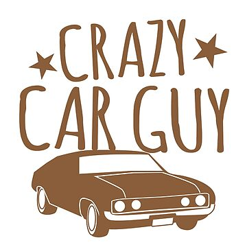 Crazy Car Guy by jazzydevil