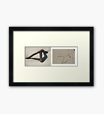 beach muse #1 Framed Print