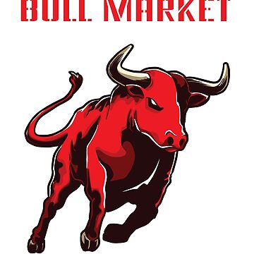 Bull market bull stock market penny stocks investment stock money gift by Netsrikfa