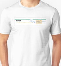 Orlyval - Bus / Metro / RER / Tram - Paris - Airport Orly - France Unisex T-Shirt