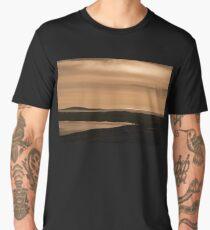 Berneray: Sunset View over Boreray Men's Premium T-Shirt