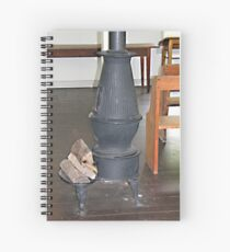 Staying Warm, Old Style Spiral Notebook
