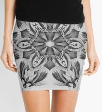 Snowflake of the night Mini Skirt