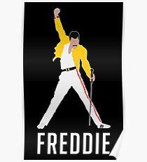 FREDDIE MERCH Poster